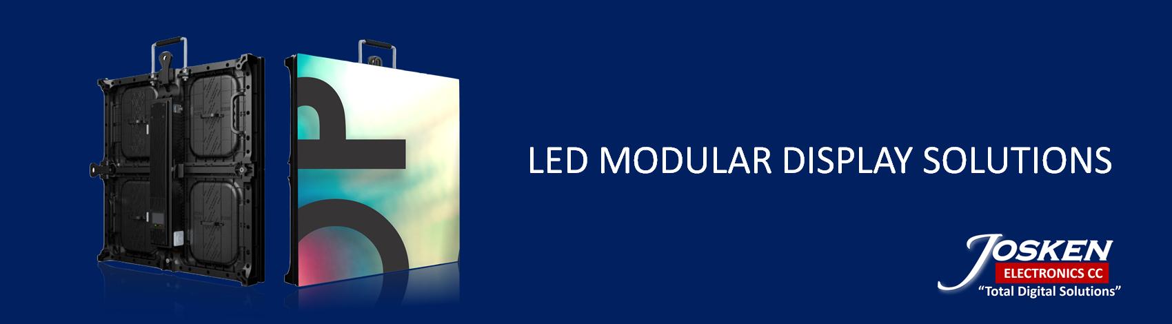LED MODULAR DSIPLAY BANNER